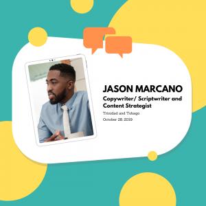 Jason Marcano_Copywriter/ Scriptwriter and Content Strategist